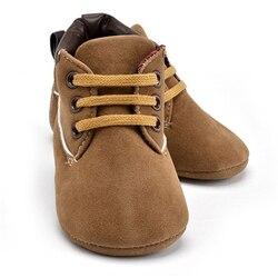 2019 новая весенне-Осенняя детская обувь для маленьких мальчиков с мягкой подошвой из искусственной кожи, обувь для малышей 0-18 месяцев, неско...