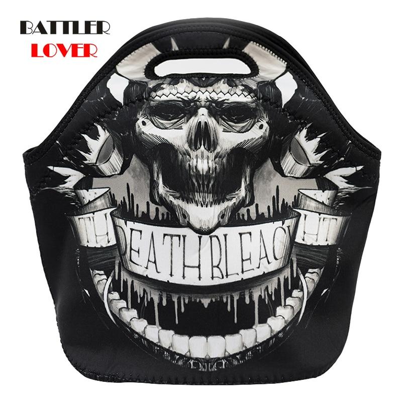 Bag Women Handbag Female Fashion Skull Skeleton Chain Hangbag Lady Casual Totes Steam Punk Shoulder Bucket Shop Bags Bolsas