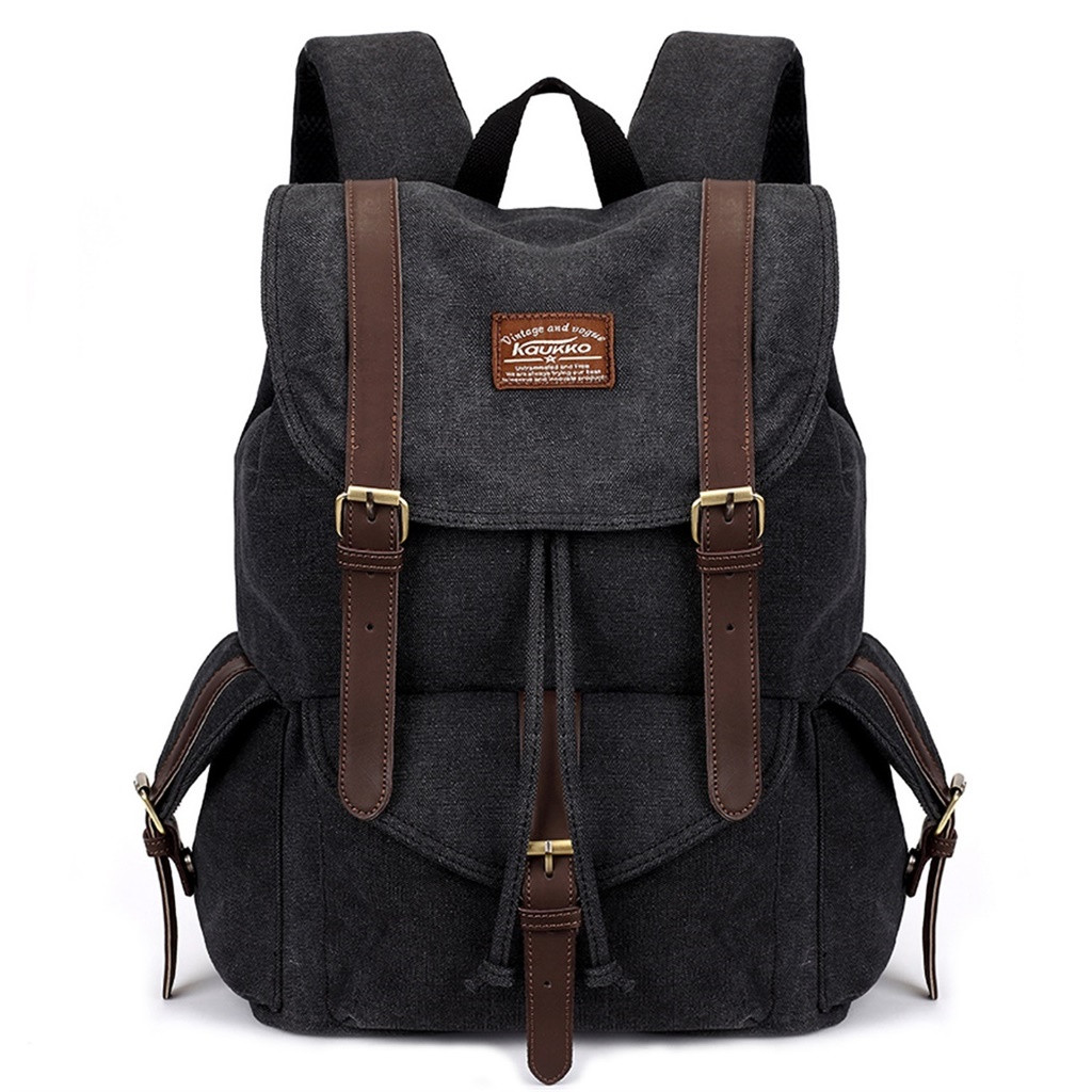 Backpack - Aelicy Vintage Canvas Military Backpacks Men/Women School Backpacks