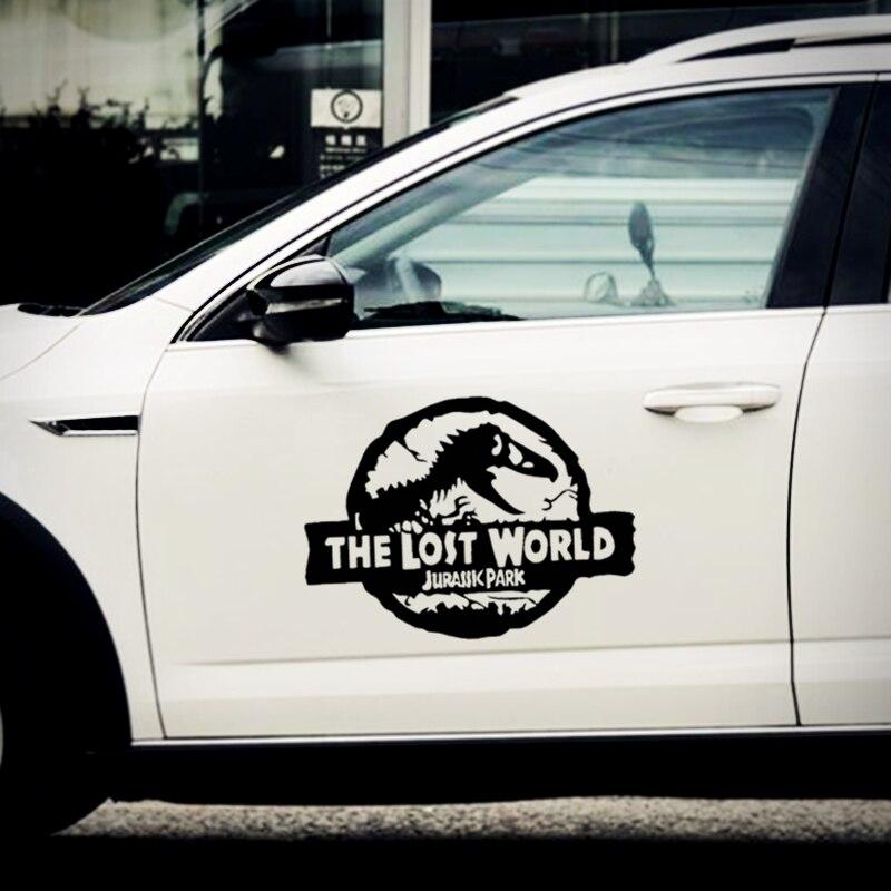 Funny 3D Vinyl Car Stickers Dinosaur Pattern Car SUV Windshield Window Decal