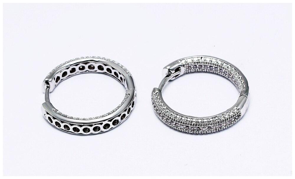 Hoop earrings SE24112 (9)