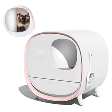 Bedpans Litters Toilet-Training-Kit Fully-Enclosed Automatic Intelligent-Deodorant Pet