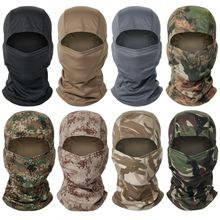 Windproof Bandana Scarf Head-Warmer Bike Tactical-Balaclava Cycling Full-Face-Cover Military