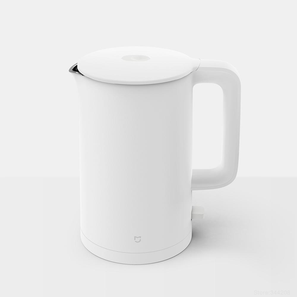 New XIAOMI MIJIA Electric Kettle 1A Kitchen Stainless Steel Insulation Teapot Smart Temperature Control Anti-Overheat Protection