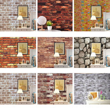 10M 3d Wallpaper For Walls Self-Adhesive Wallpaper Wall Sticker Paper Wallpapers For Living Room Vinyl Decorative Wall Adhesive