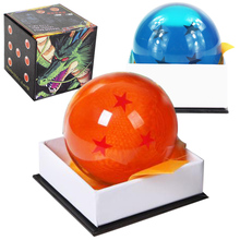 Model-Toy Crystal-Ball Packaged Pvc-Figure Blue 7-Stars Yellow Box Big-Size High-Quality