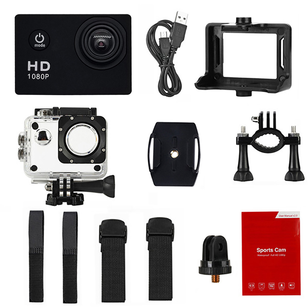 Camera Recorder-Accessory Video-Camcorder Professional Waterproof Hd 1080p New DV Driving title=