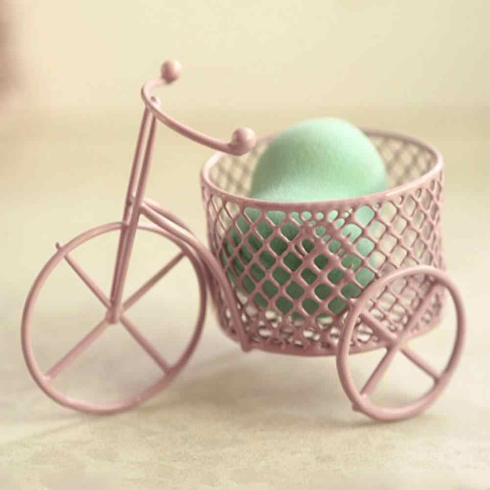 New Cute Iron Tricycle Art Decoration Wedding Sugar Jewelry Container Storage Holder gift decoration Drop Shipping