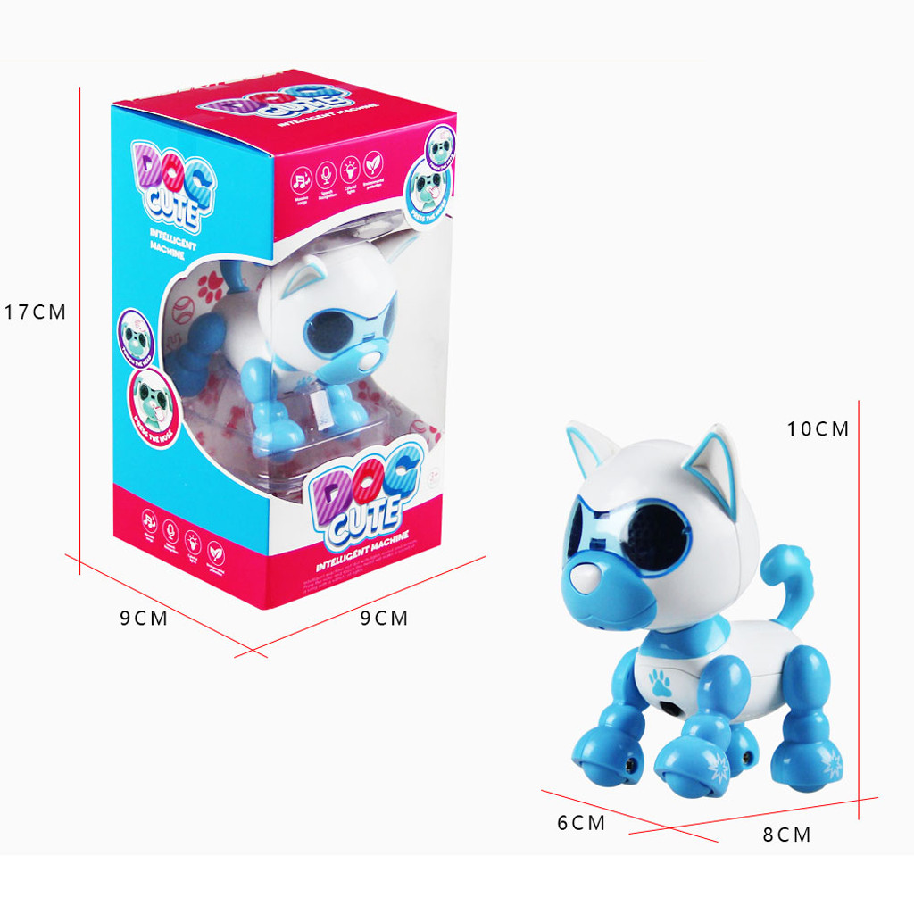 Robot - Children's Electronic Pet Toys Electronic Smart Robot Dog Toys Music Dance Walking Interaction Toy For Kids Puppy Pet Toy