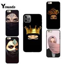 Чехол для телефона Yinuoda Crown Hijab Face мусульманские исламские глаза для iPhone 12 8 7 6 6S Plus X XS MAX 5 5S SE XR 11 11 12 pro promax(Китай)