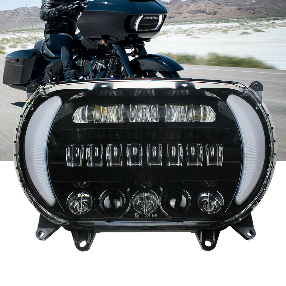 Double-Headlight Road-Glide Harley Headlamp-Bulbs Motorcycle Dual for New title=