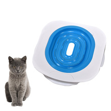 Litter-Box Toilet-Trainer Puppy-Cat-Litter-Mat Training-Kit Plastic New