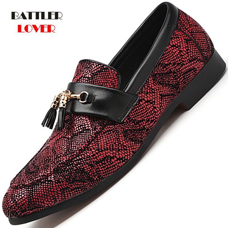 Summer Outdoor Light Soft Snakeskin Leather Men Shoes Loafers Slip On Comfortable Moccasins Flat Casual Boat Driving Shoes 37-48