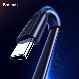 Baseus usb type C кабель USBC Быстрая зарядка зарядное устройство USB-C type-c кабель для samsung S10 S9 S8 Xiaomi Mi 9 8 huawei OnePlus 6t 6 5t