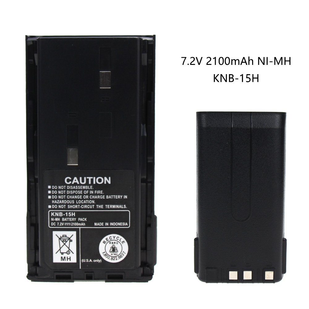 Battery /& Charger for Kenwood TK-3107 TK-270G TK-260 KNB-15H NICD 1200mAh