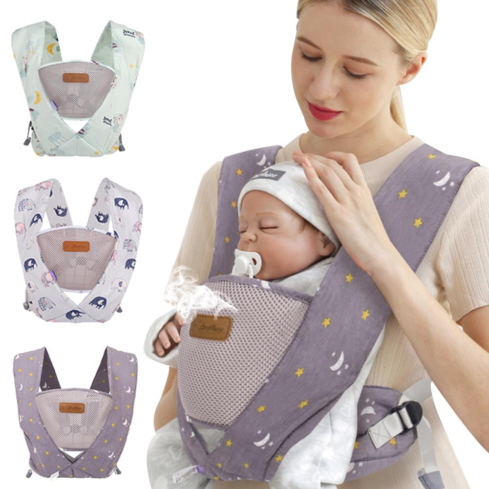 Baby Carrier Wrap Pouch Carrier Cotton Sling Newborn Infants Toddler 3-36 Months