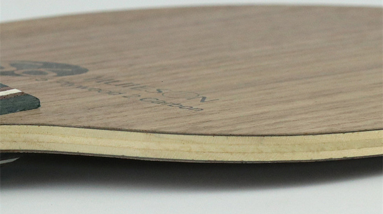Super Quality Table Tennis Racket Blade Walnut Ayous 5 Plywood 2 Ply Carbon Ping Pong Blade for Senior Players S6 (4)_