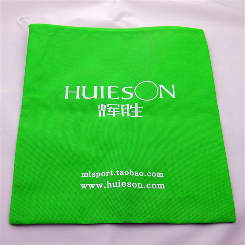 Huieson Non-woven Cloth Table Tennis Balls Storage Bag Dustproof Drawstring Bag for Ping Pong Balls Table Tennis Accessories (4)