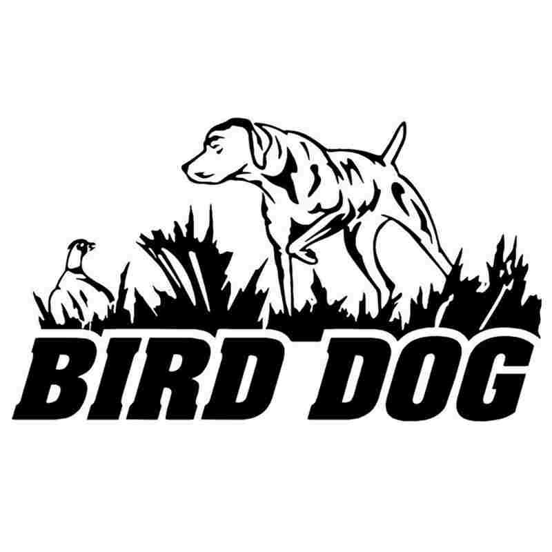 Pegatina Hunt Bird DogDecal Hunting Dog Shotgun Sticker Hollow Sticker Hunter Car Window Vinyl Decal Funny Poster Motorcycle