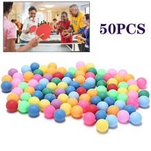 Pong-Balls Table-Tennis-Ball Ping-Pong Colored Training 50pcs 40mm Entertainment New-Material