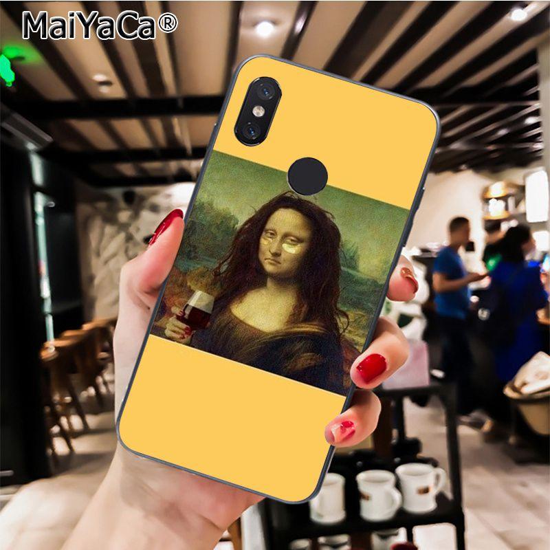 Great art aesthetic van Gogh Mona Lisa painting, David sculpture