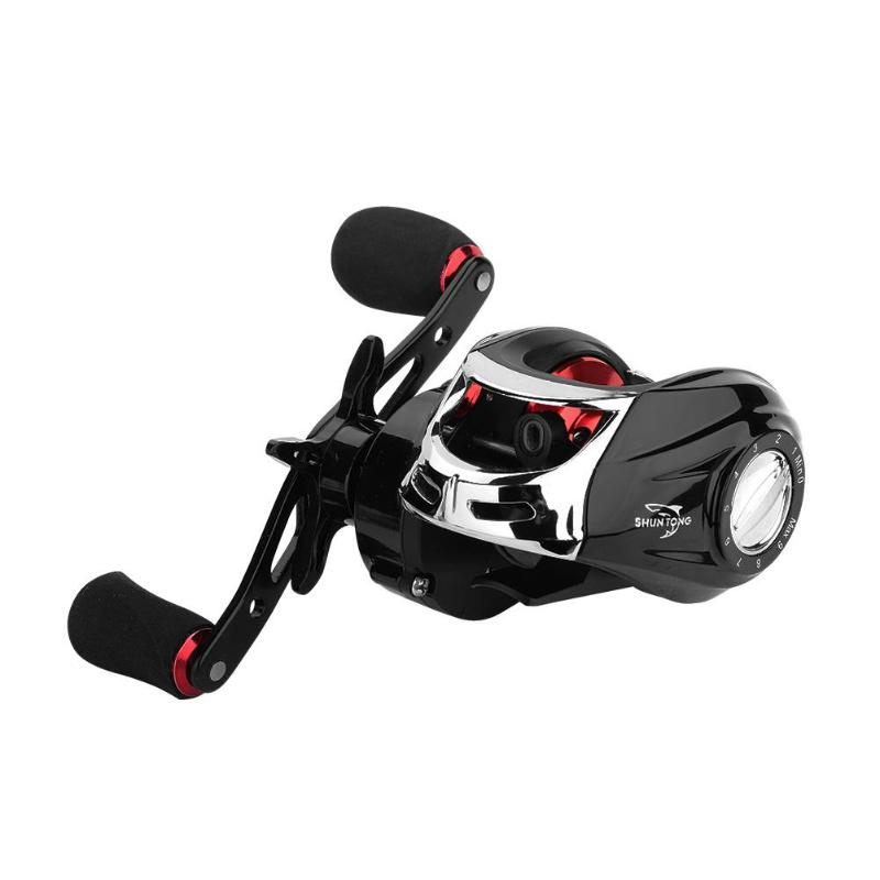 Fishing Reels Low-Profile Baitcasting Right-Hand Classic 1-Bearings 18 Delicate title=