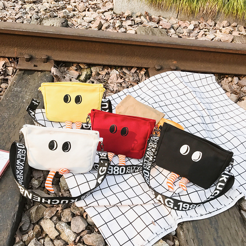 2019 Korean-style Latest KID/'S Messenger Bag Fashion Cartoon Change Purse Cute Funny Adorable Baby Shoulder Bag