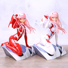 Anime Figure Collectible-Model Darling Zero Sexy Girls Red/white The PVC Two-02 Toy