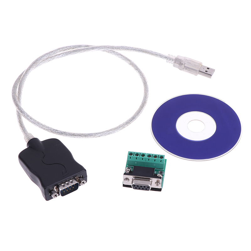 Cable Converter USB2.0 to RS-485 RS-422 DB9 pin Female COM Serial Port Adapter