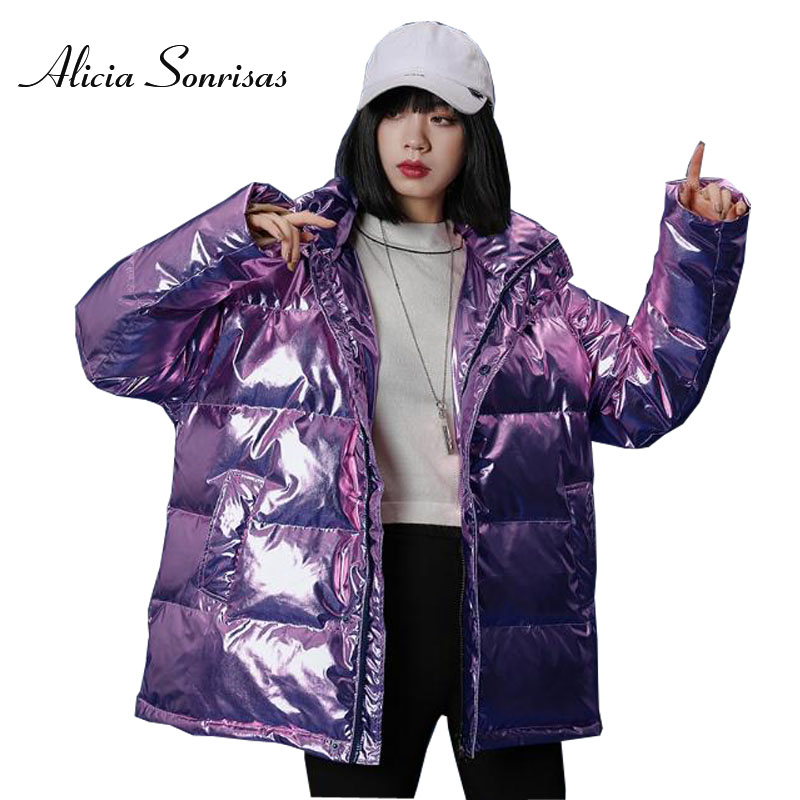 Mens//Womens Cotton Padded Puffer Jacket Thicken Oversize Warm Outwear Coat New
