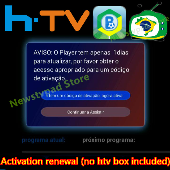 Htv-Box Brazil Tv Activation-Code Tigre Plus IPTV5 B7 Fees A3 8 Yearly A2 6 title=