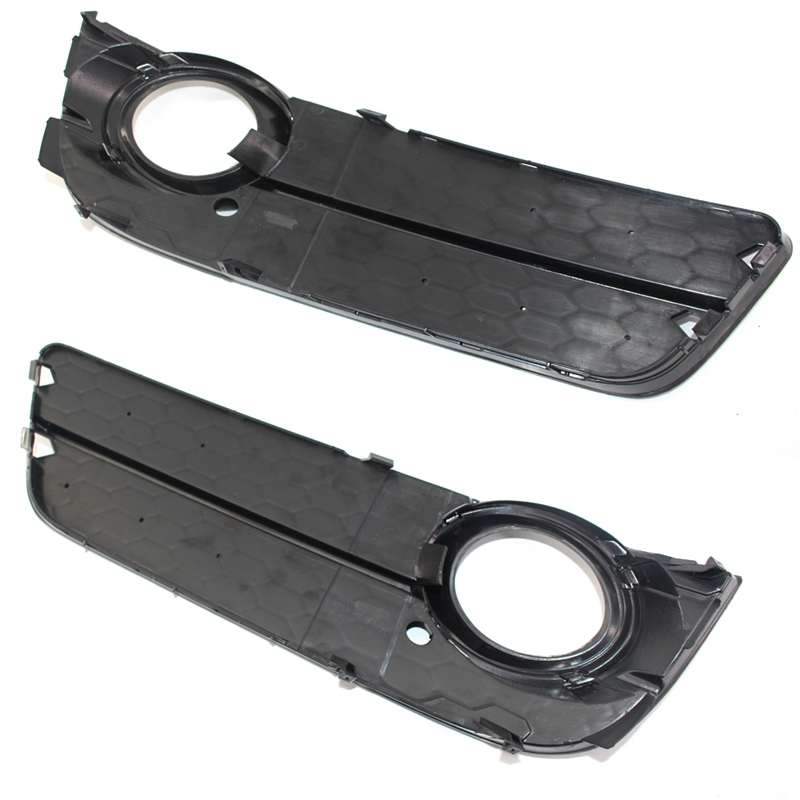 NEW AUDI A5 2008-2012 FRONT BUMPER FOG LIGHT GRILLE RIGHT O//S BLACK 8T080768201C