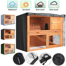 Cage Hutch-Cover Pet-Bunny-Cage Rabbit Outdoor Without Waterproof 4FT