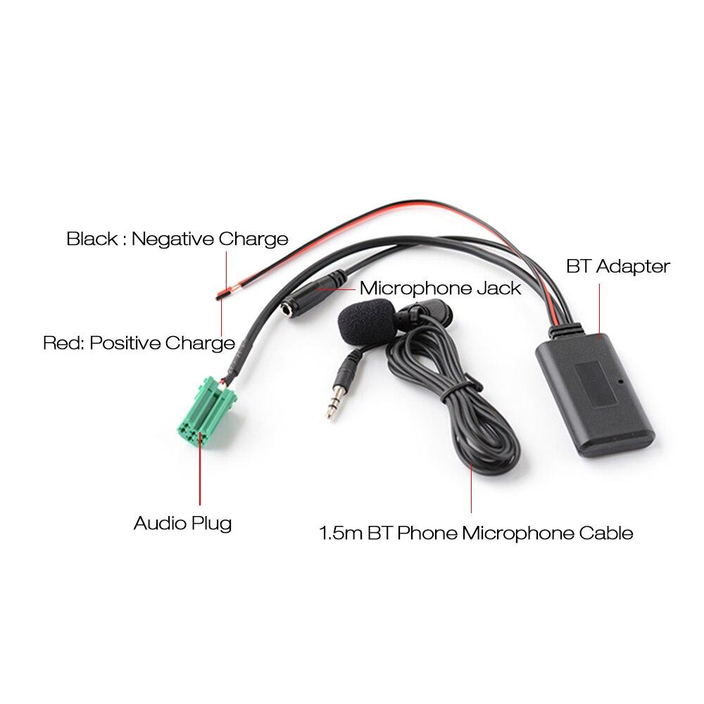 Micrófono de Recambio Para OPEL Bluetooth Kit de actualización