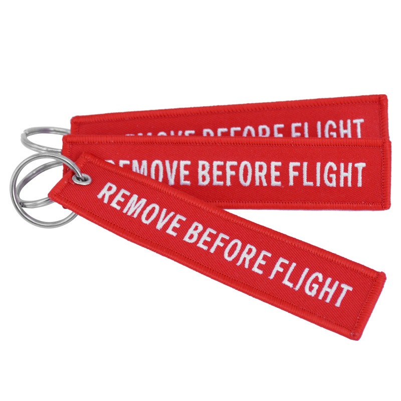 Remove Before Flight Red Embro