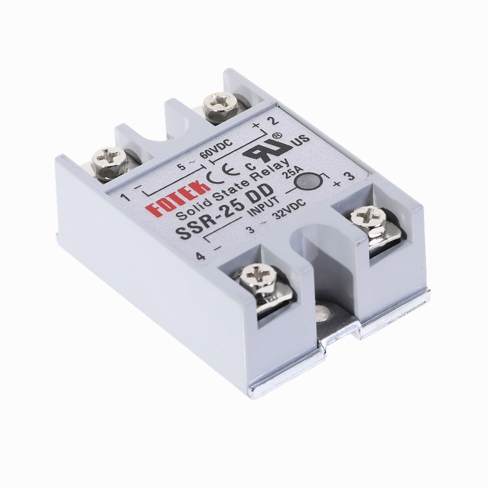SSR-25DD 25A DC-DC 3-32V DC TO 5-60V DC Solid State Relay