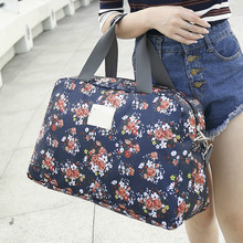 Sport-Bag Totes Travel-Luggage Duffel Gym Multifunction Large-Capacity Women Hot Floral