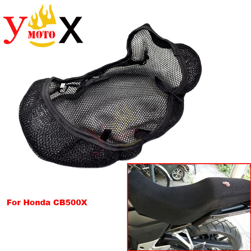 Cushion Seat-Cover CB500X Motorcycle Honda Bike Mesh Insulation for Sun-Proof-Net Rally title=