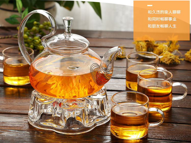 acheter Service à thé en verre pas cher | oko oko