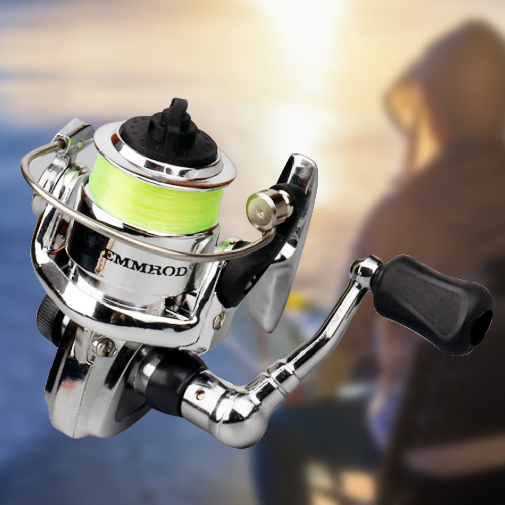 Fishing Spinning Reel Mini Bearing Left Right Small Pocket Tackles Lure 4.3:1