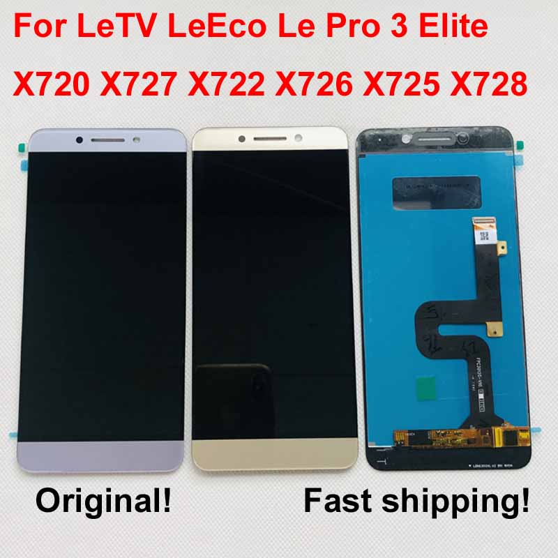 LCD Touch-Screen Elite-Display X720x727 X722 Leeco Letv Original for Pro 3 AAA title=