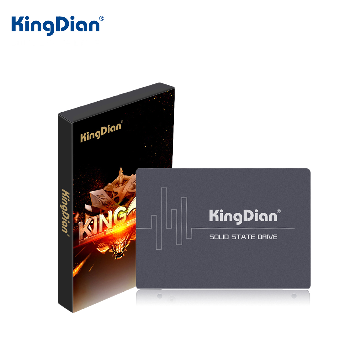 Kingdian Solid-State-Drive SSD Laptop SATAIII 240GB 128GB 60GB 120GB 480GB for PC 64GB