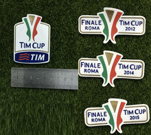 Силиконовый патч Tim Cup Final Tim Cup 2012 2014 2015 2016 Final Patch Soccer Badge(Китай)