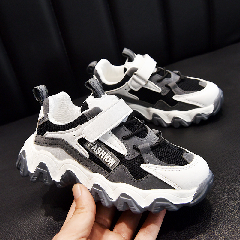 Shoes Boys Tennis-Trainers Kids Sneakers Chunky Spring Fashion Girls Sports Breathable