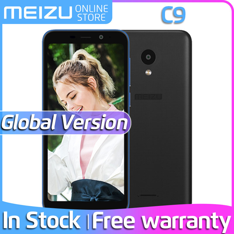 Meizu C9 2GB 16GB LTE/WCDMA/CDMA/GSM Quad Core 13MP New Mobile-Phone Camera Battery Official title=