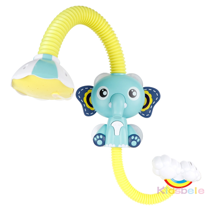 Bath Toys Baby Water Game Elephant Model Faucet Shower Electric Water Spray Toy For Kids Swimming Bathroom Baby Toys-13
