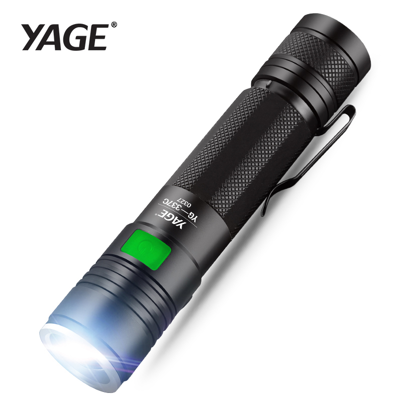 Tactical 60000LM 5-mode T6 Zoomable 18650 LED Flashlight Torch Light Camping US