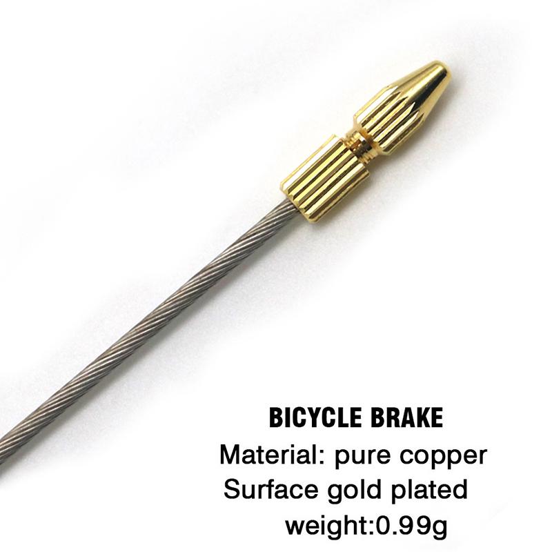 Fantastic Bike Bicycle Brake Shifter Derailleur Inner Cable Wire End Cap Crimps