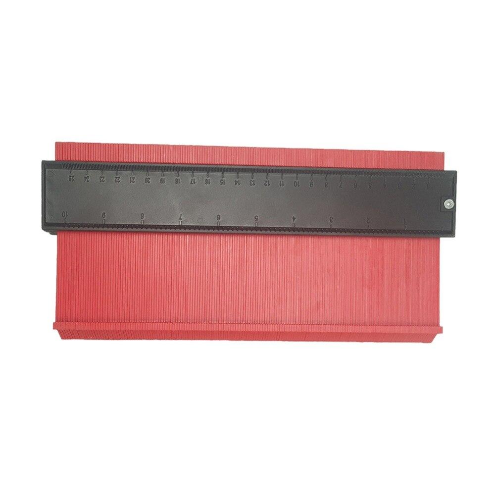 Forme Contour Jauge Duplicateur en plastique copie Contour Jauges 12//14//25//50cm