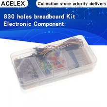 Starter-Kit Breadboard-Cable Resistor Potentiometer-Box Tie-Points Electronics-Component